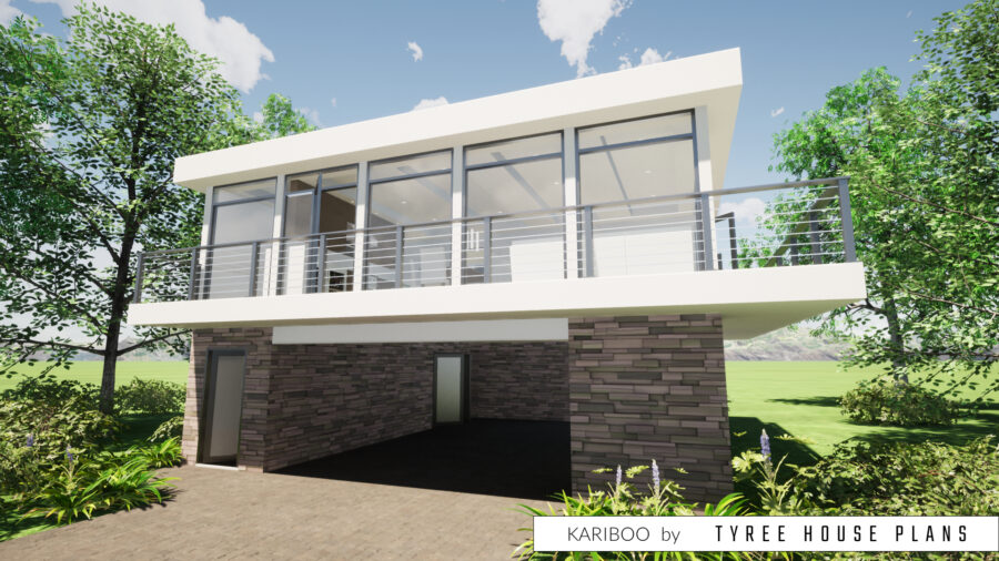 Kariboo House Plan by Tyree House Plans