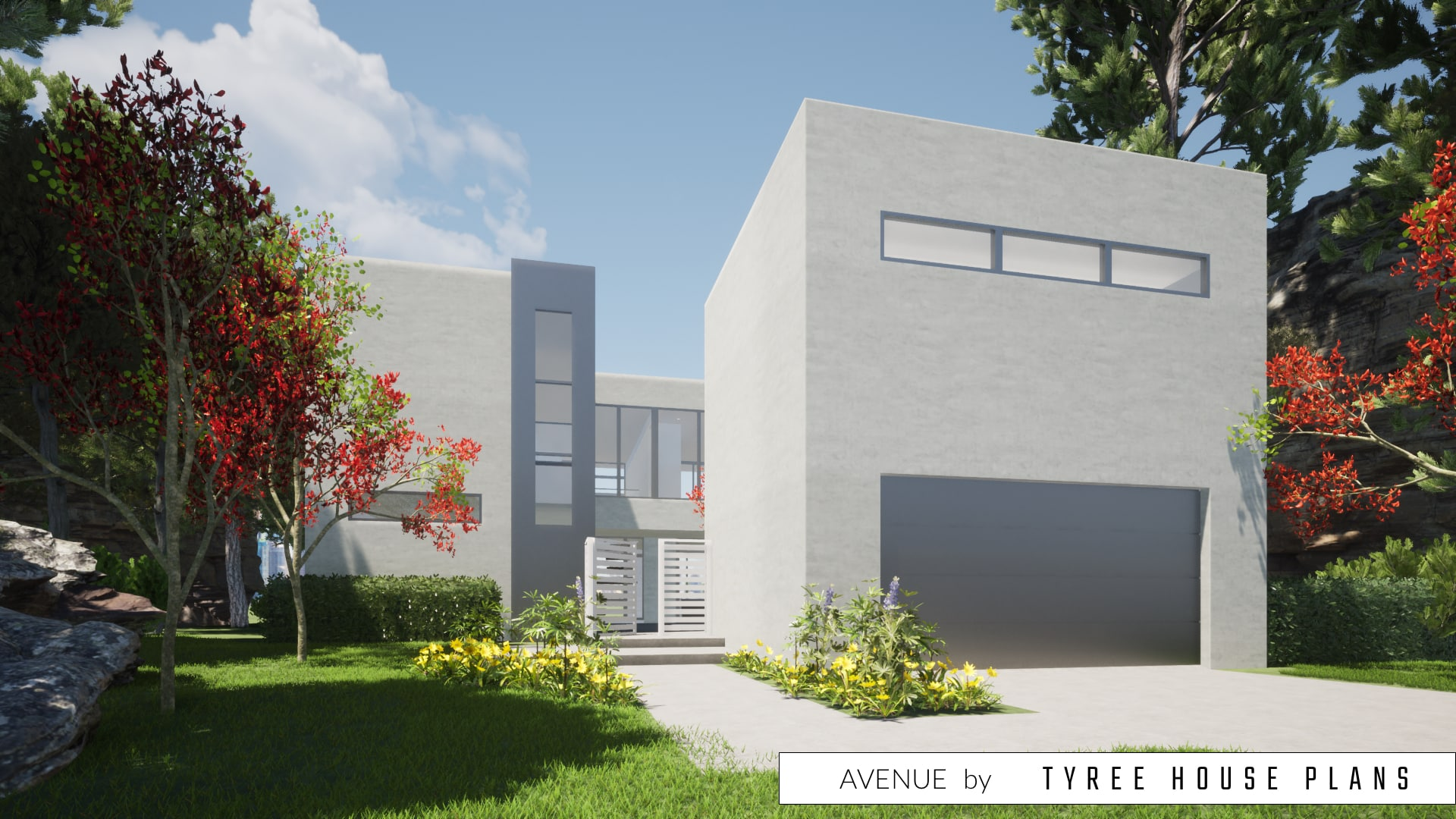 Avenue House Plan by Tyree House Plans