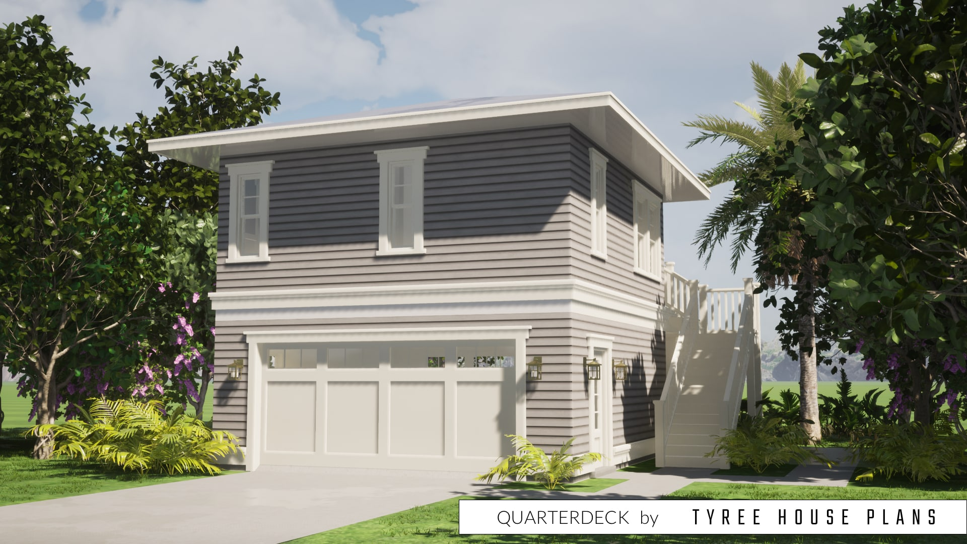 Quarterdeck House Plan by Tyree House Plans