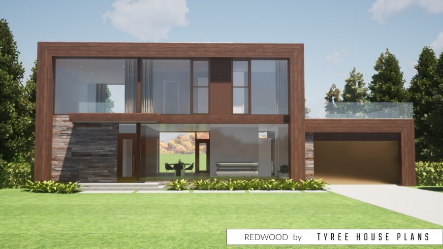 Redwood House Plan by Tyree House Plans