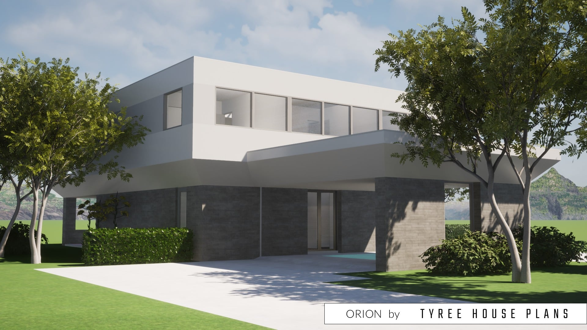 Orion House Plan by Tyree House Plans