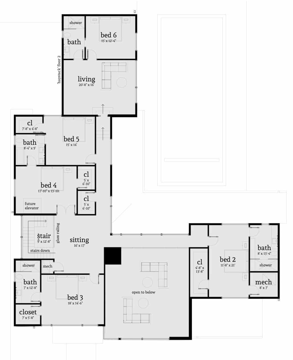 Haystack House Plan by Tyree House Plans