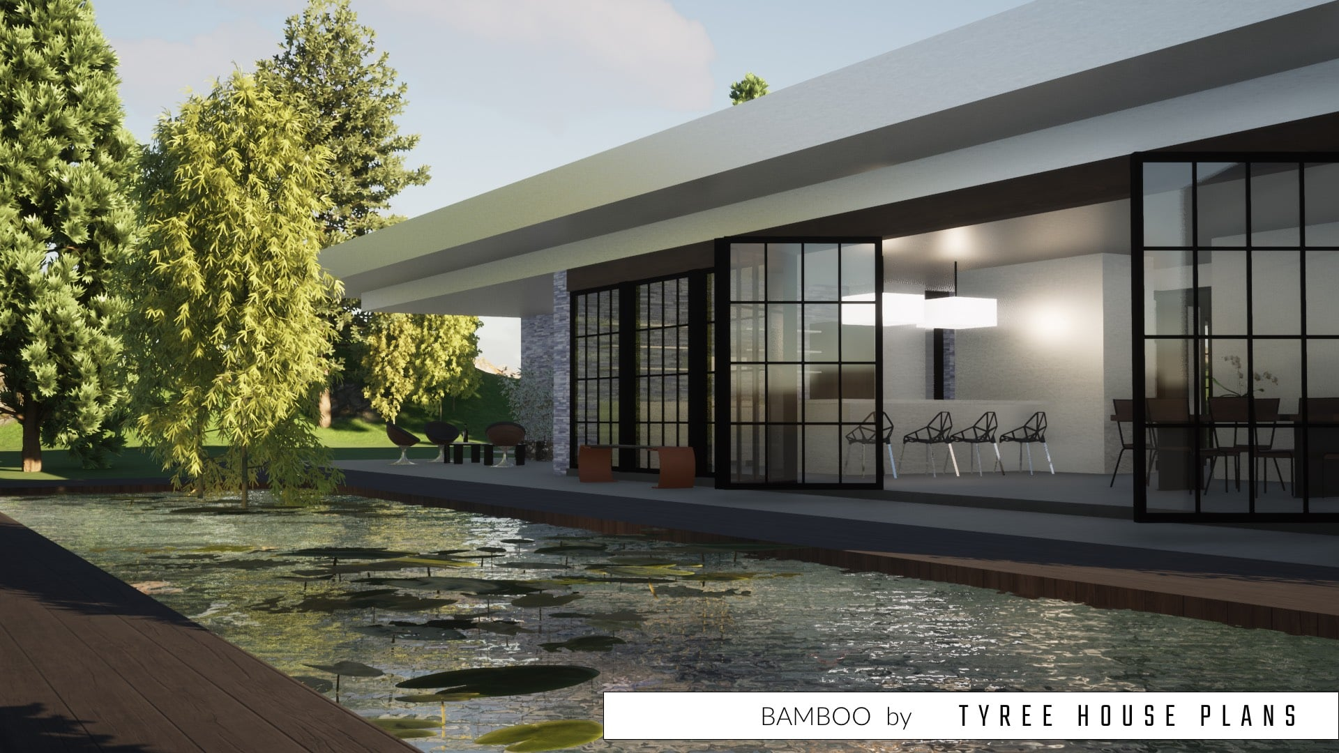 Bamboo House Plan by Tyree House Plans