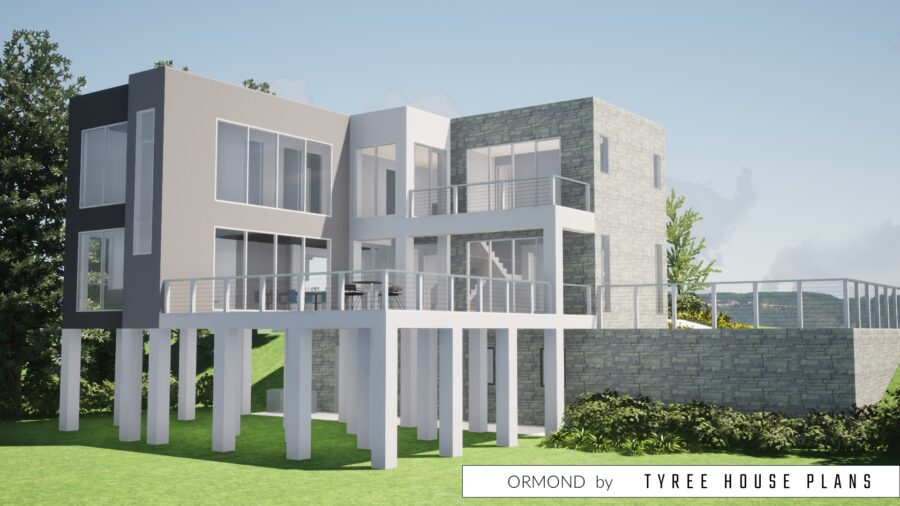 Ormond House Plan by Tyree House Plans