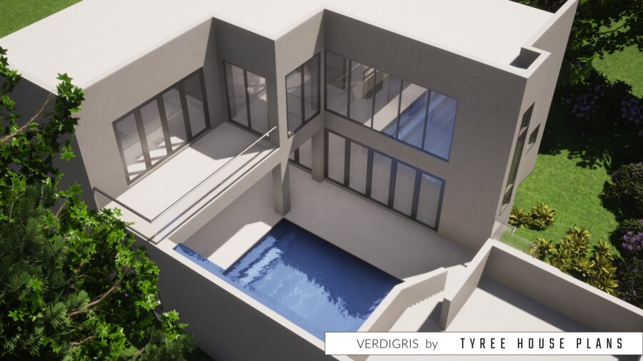 Verdigris House Plan by Tyree House Plans
