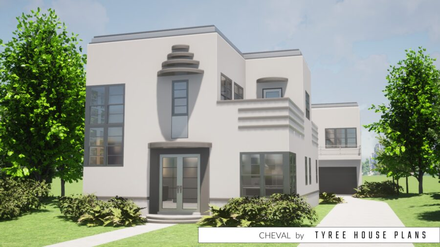 Cheval House Plan by Tyree House Plans