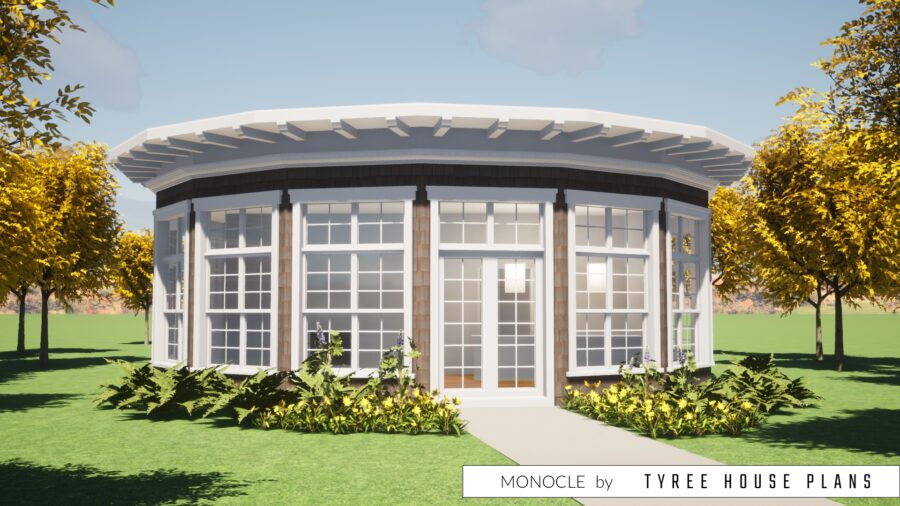Monocle House Plan by Tyree House Plans