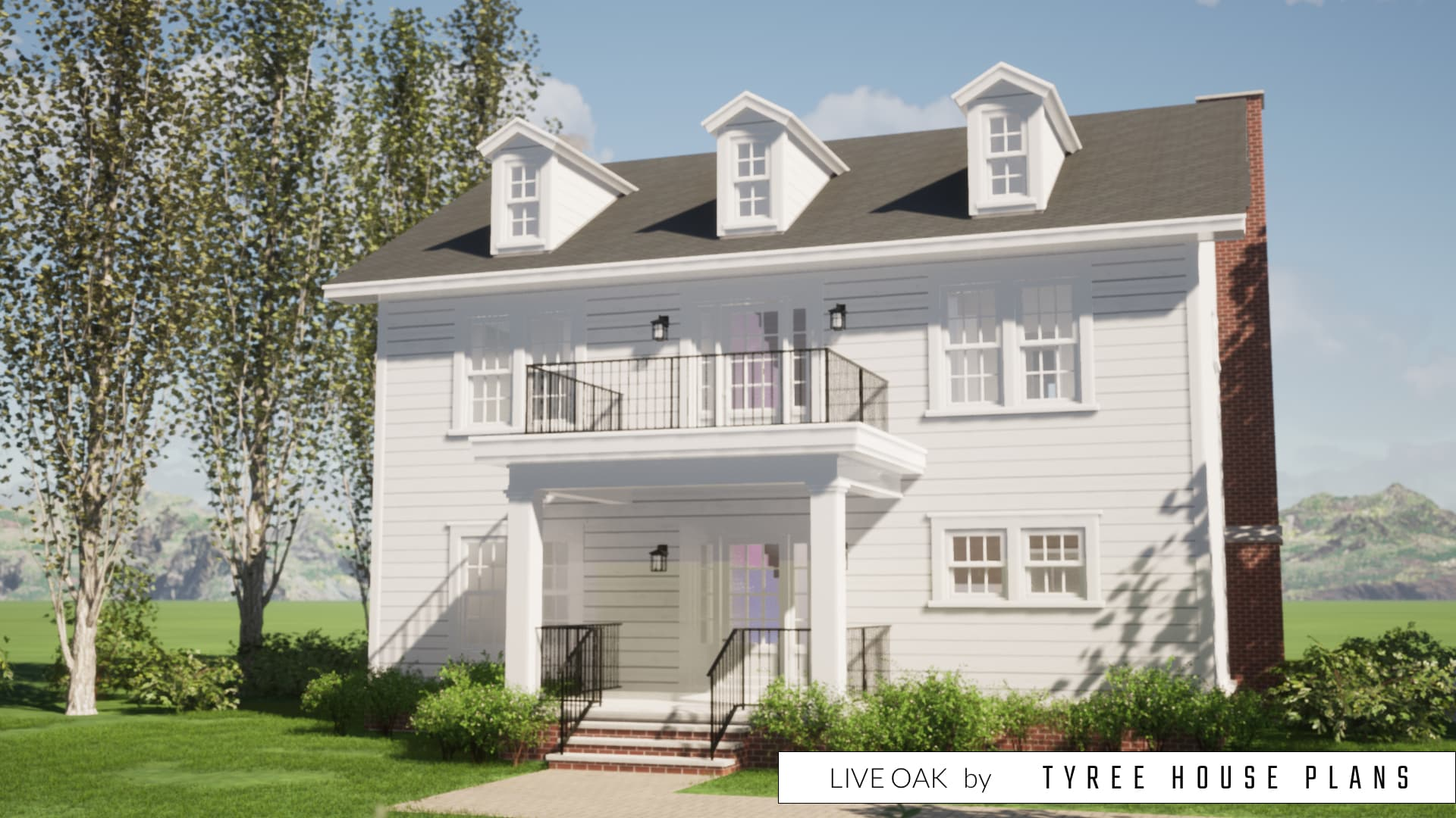 Live Oak House Plan by Tyree House Plans