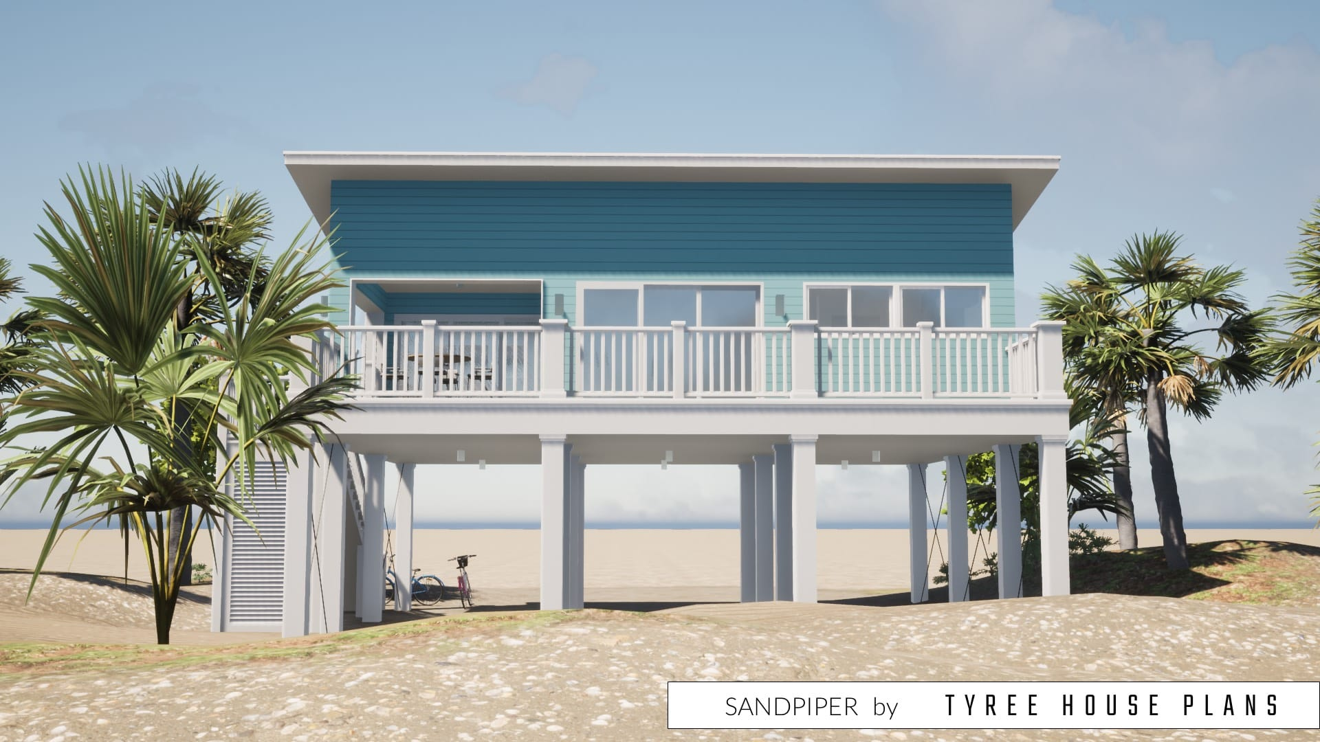 Sandpiper House Plan by Tyree House Plans