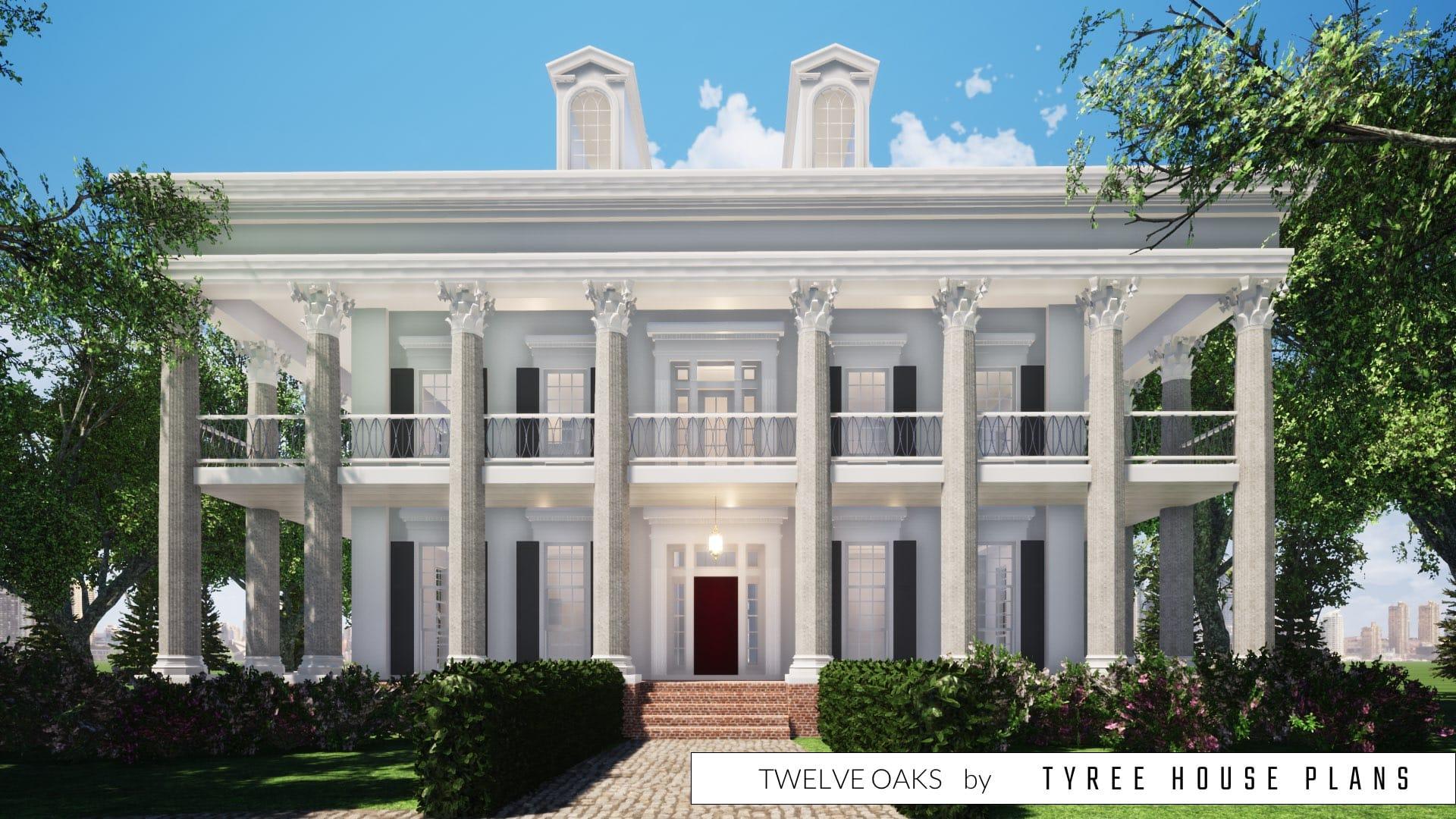 Twelve Oaks House Plan by Tyree House Plans
